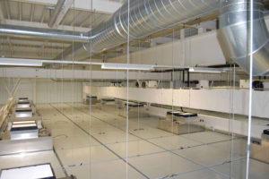 Modular Walkable Ceiling System.