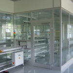Glazed Wall Cleanroom Construction