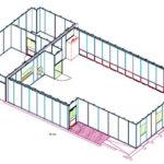 Cleanroom design - Modular walls
