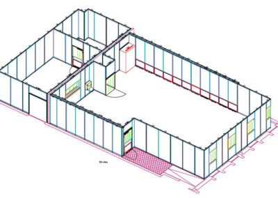 Cleanroom design - Modular walls