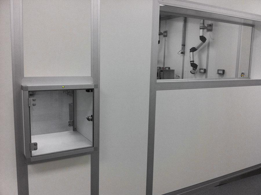 Modular Wall Cleanroom System