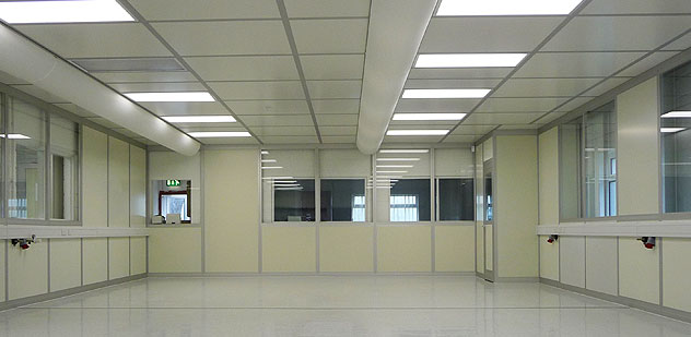 Cleanroom solutions for design, construction and maintenance of clean rooms in the United Kingdom