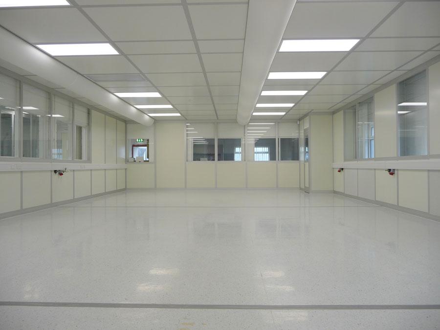 Uduras - Modular wall Cleanroom system