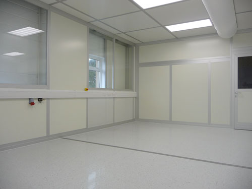 Udaras Cleanroom - Electrical Trunking and Air Vents