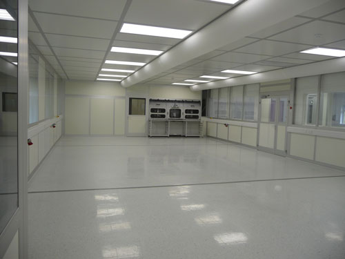Udaras clean room - Electrical, Lighting and Air-inlet