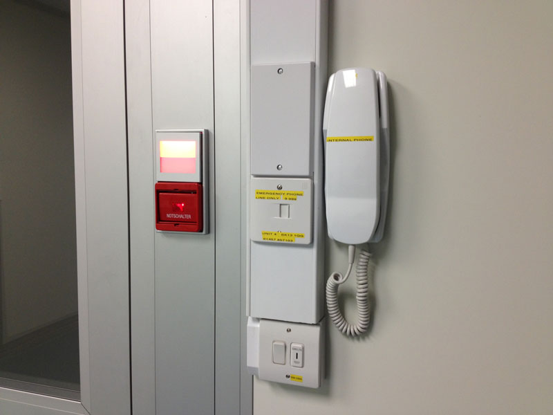Cleanroom telephone fit-out