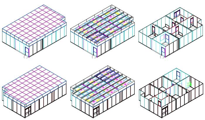 Modular Cleanroom Design diagram