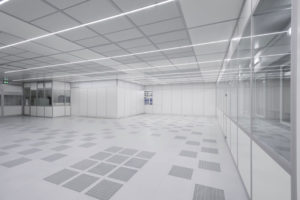 FCM main cleanroom LED lighting