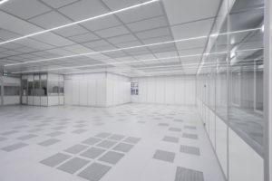 FCM main cleanroom LED lighting