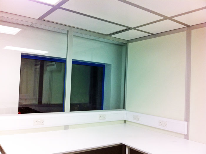Modular cleanroom for quality control and testing