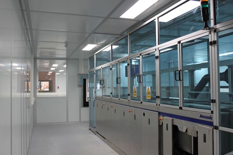 Corin Group Orthopaedic Cleanroom