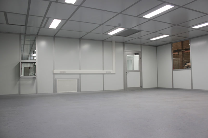 NGS turn-key modular cleanroom construction