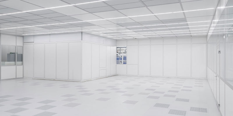 Large Modular Cleanroom