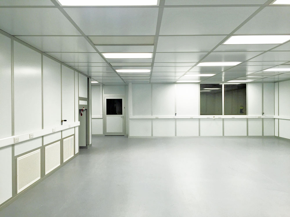 Bvi Modular Cleanroom Designed Built By Ngs Cleanroom S