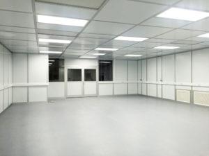 Modular Cleanroom layout