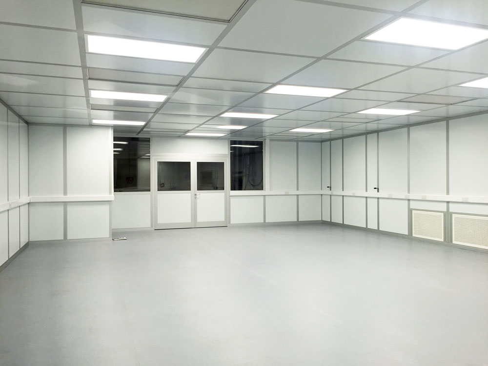 Modular Cleanroom layout