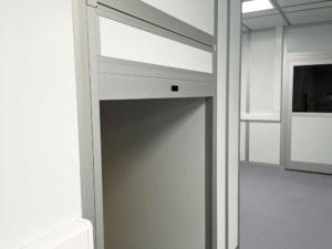BVI Modular Cleanroom Pass-through