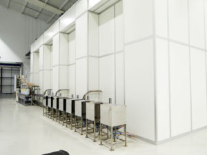 Cleanroom Exterior Back