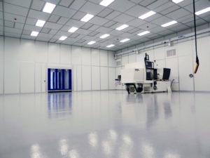 Boddingtons Plastics Cleanroom Interior
