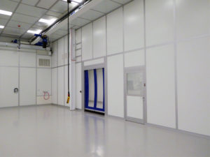 Interior of Cleanroom