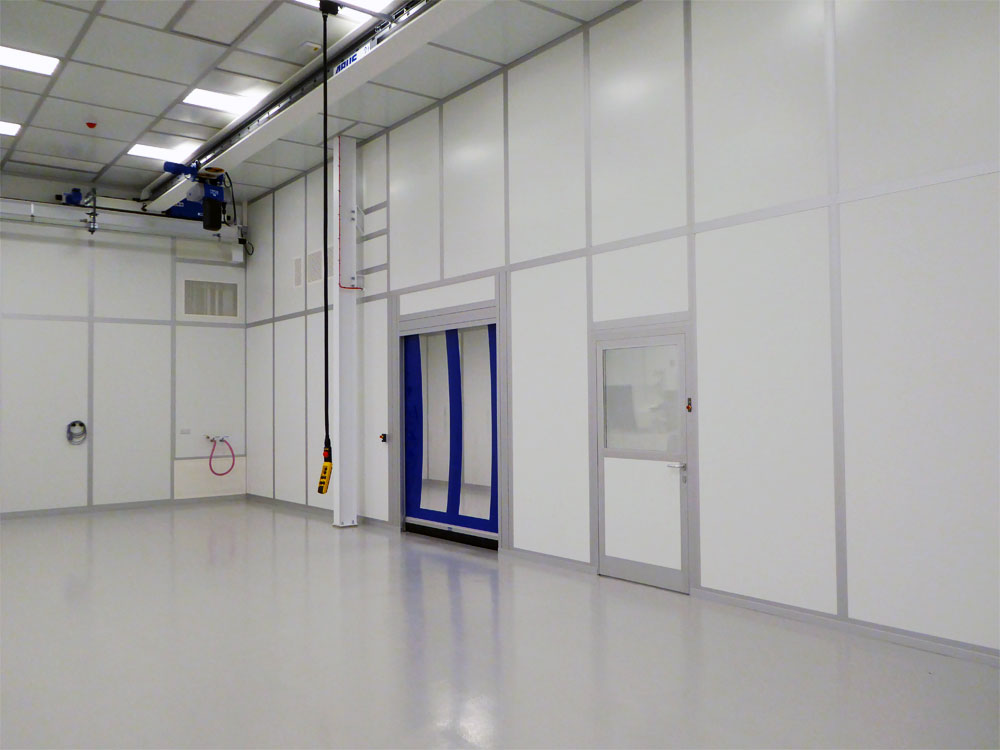 Interior of Cleanroom