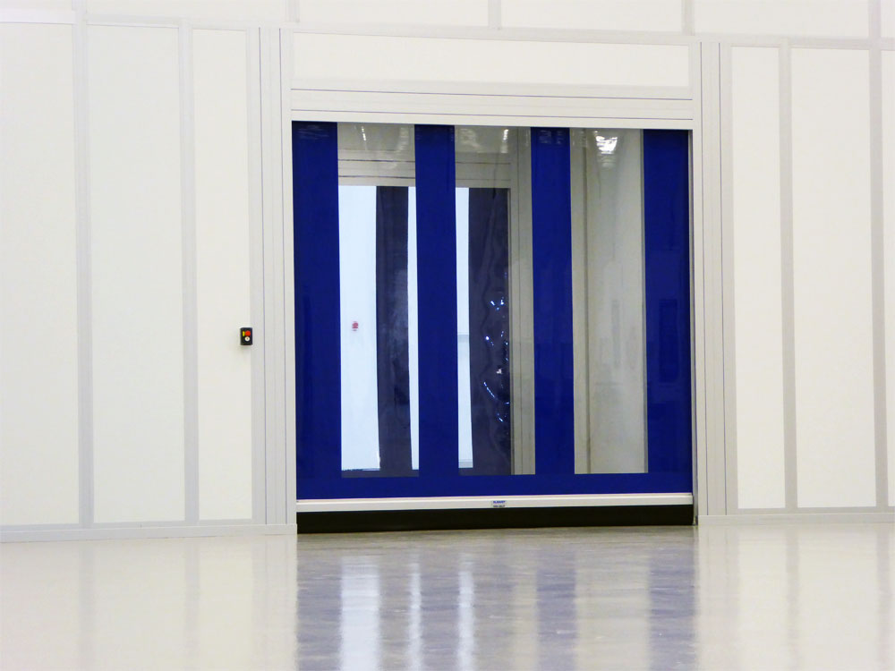 Modular Cleanroom with speed door