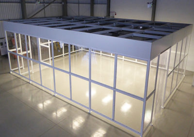 NGS Poly-wall System ISO class 8 softwall cleanroom