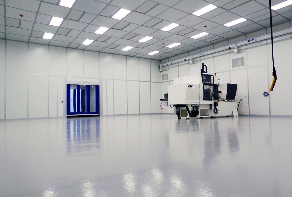 Modular Cleanroom Build