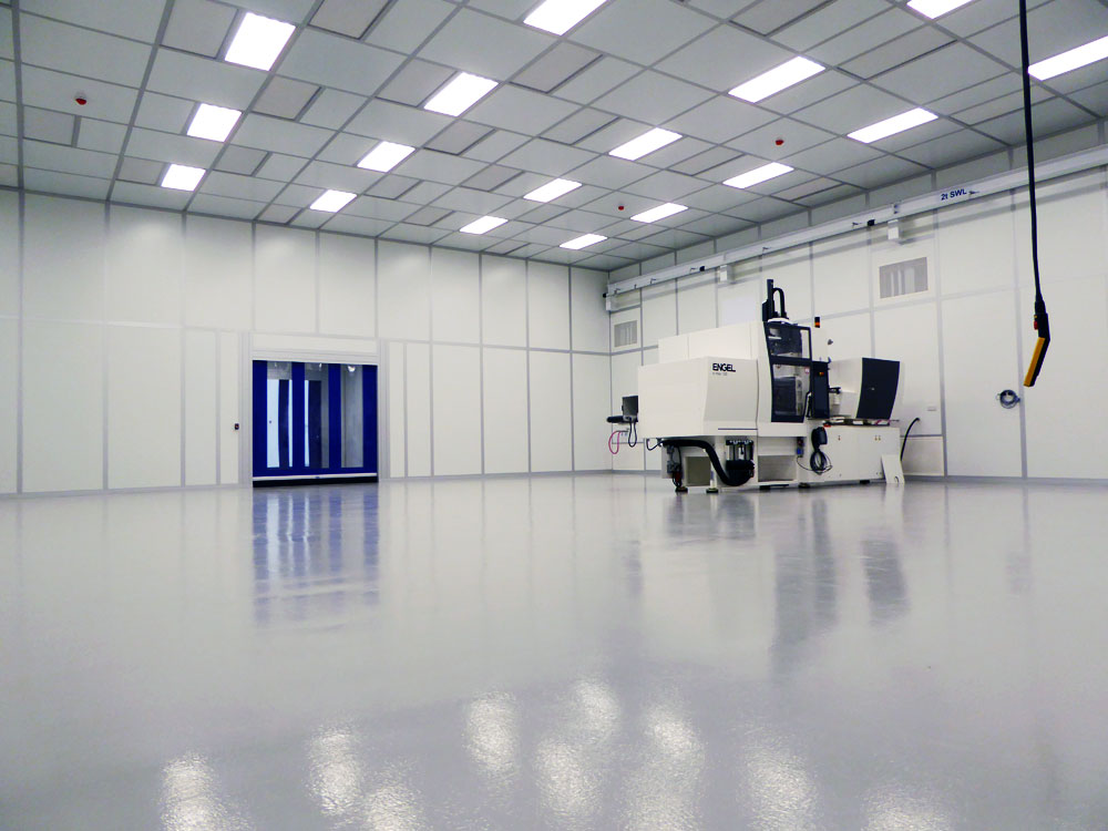 Modular Cleanroom time-lapse build