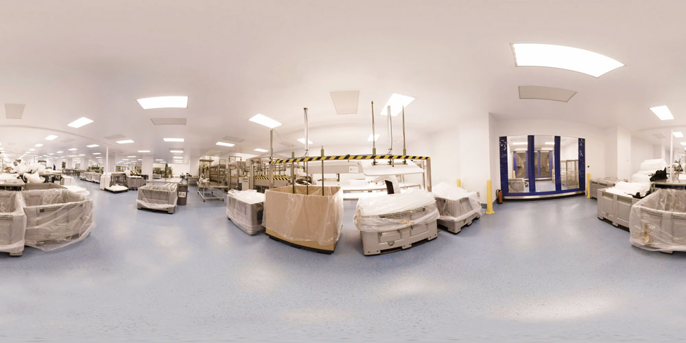 Greif flexibles bv ngs pharmaceutical wall cleanroom Pharmac clean room design