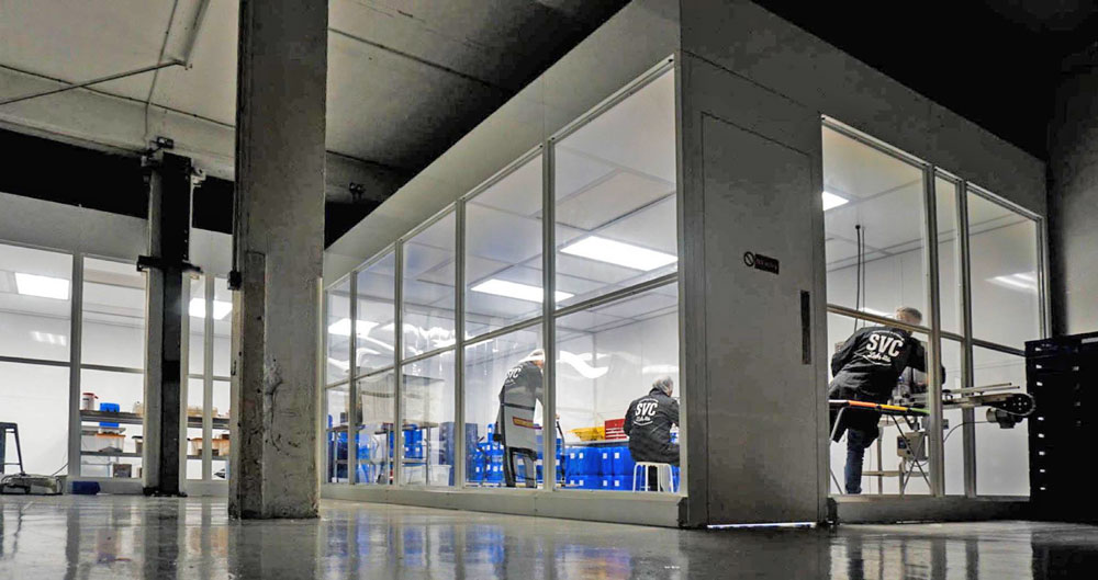 Polywall Cleanroom