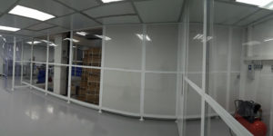 SVC Polywall Cleanroom for e-Liquid Blending