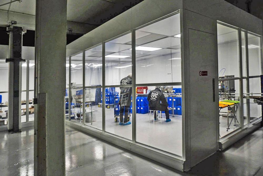 Cleanroom according to EU Legislation for e-Liquids