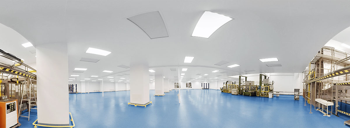 Large working Cleanroom Environment