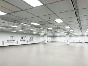 Global Life Sciences Company Cleanroom Construction in Shannon