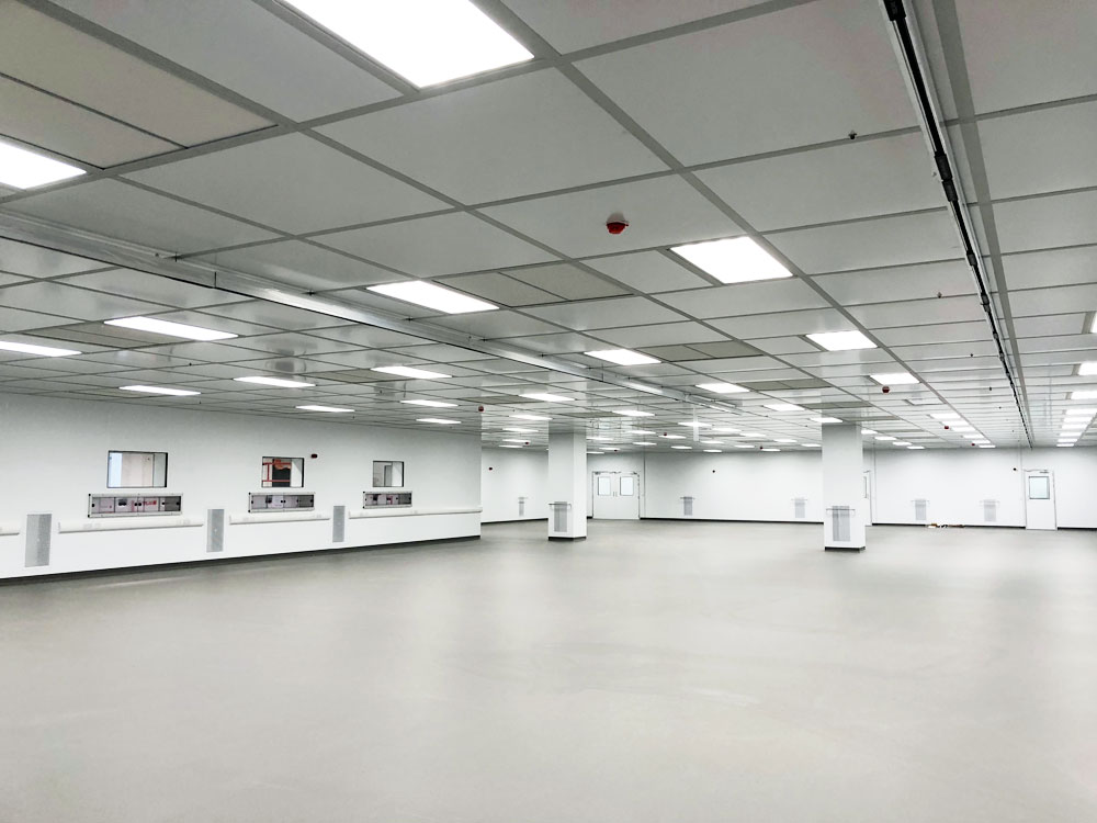 Global Life Sciences Company Cleanroom Construction