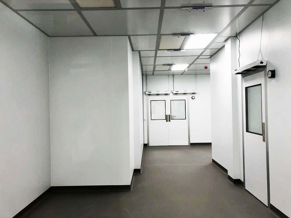 Global Life Sciences NGS Cleanroom Construction in Ireland