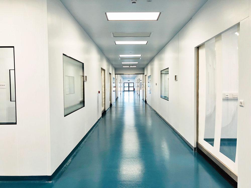 Protexin aluminium honeycomb modular wall  cleanroom