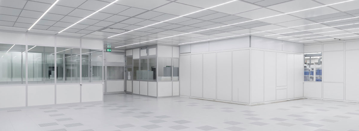 Leaders in cleanroom design and manufacture in Ireland and the United Kingdom