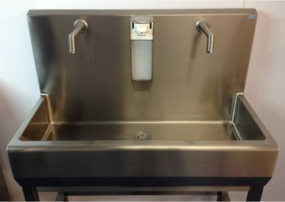 Free standing Stainless Steel sink unit